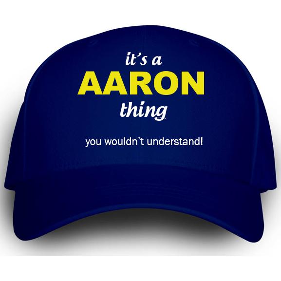 Cap for Aaron