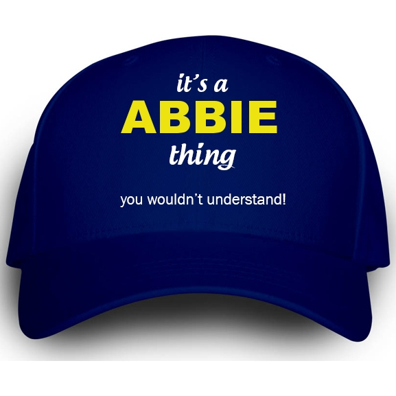 Cap for Abbie