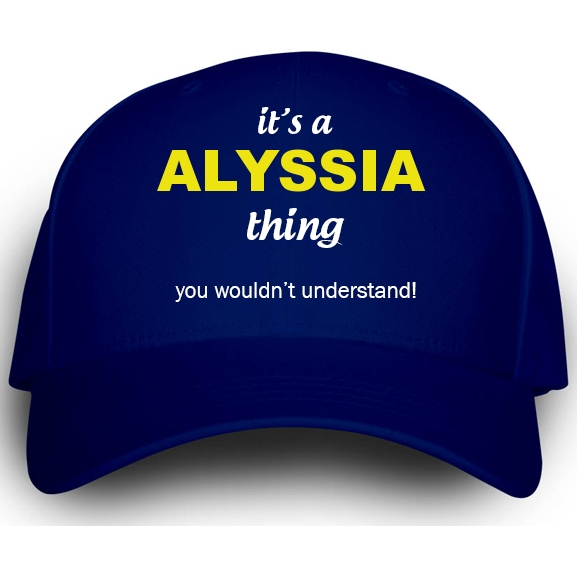 Cap for Alyssia
