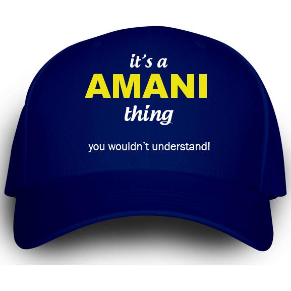Cap for Amani