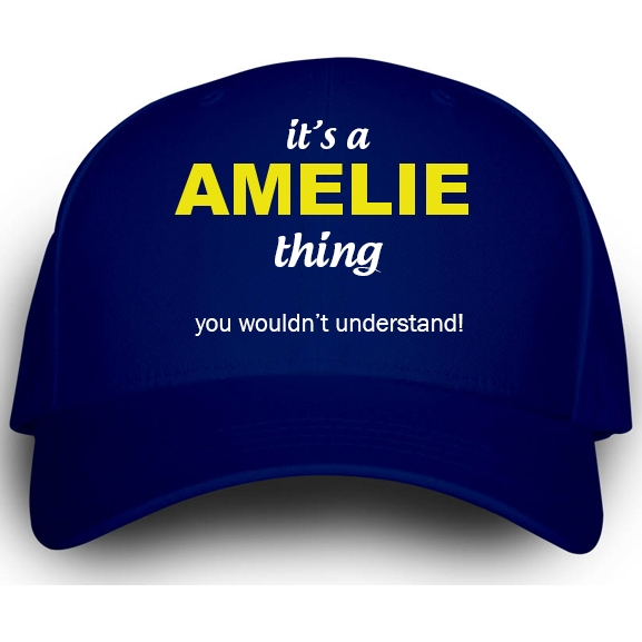 Cap for Amelie