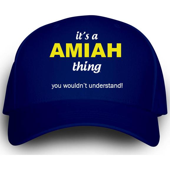 Cap for Amiah