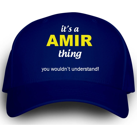 Cap for Amir