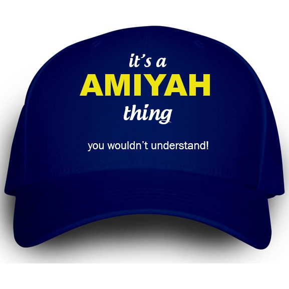 Cap for Amiyah