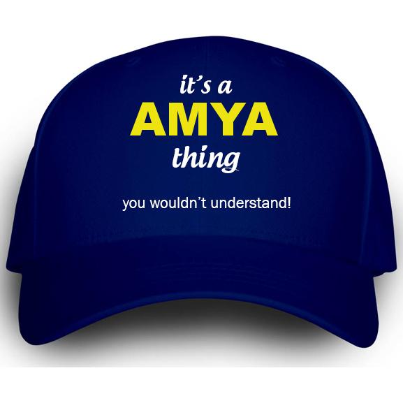 Cap for Amya