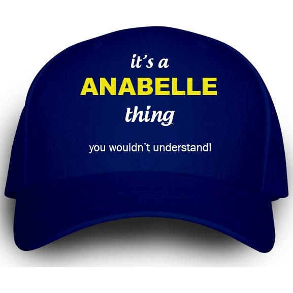 Cap for Anabelle