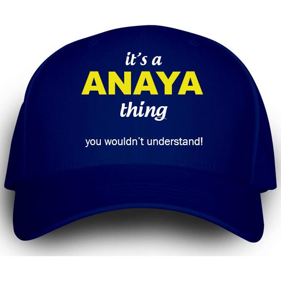 Cap for Anaya