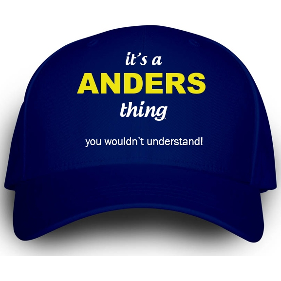 Cap for Anders