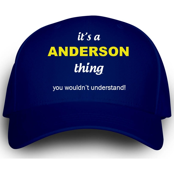 Cap for Anderson