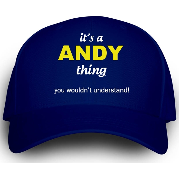 Cap for Andy