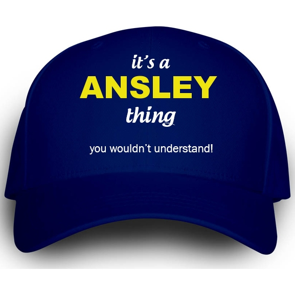 Cap for Ansley