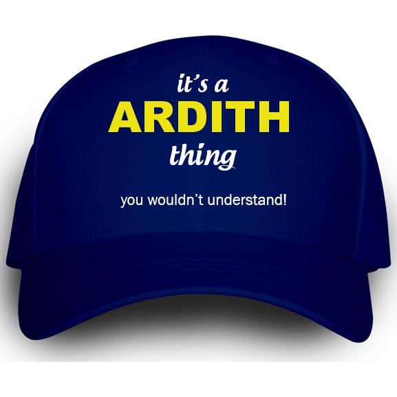Cap for Ardith