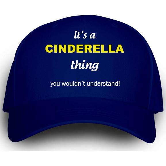 Cap for Cinderella