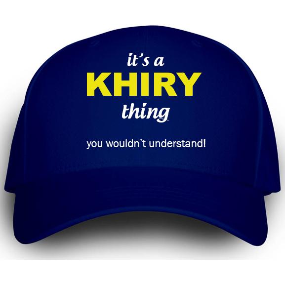 Cap for Khiry