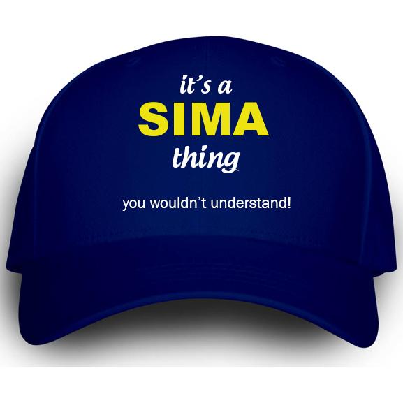 Cap for Sima