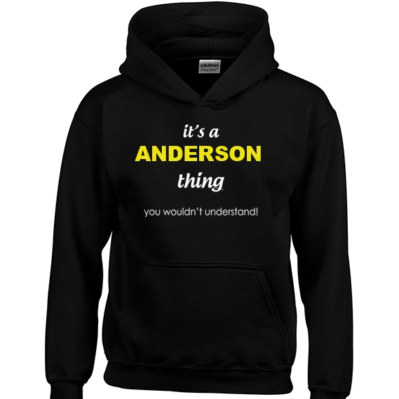 It's a Anderson Thing, You wouldn't Understand Hoodie