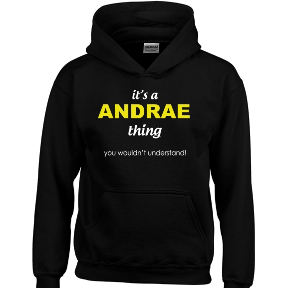 It's a Andrae Thing, You wouldn't Understand Hoodie