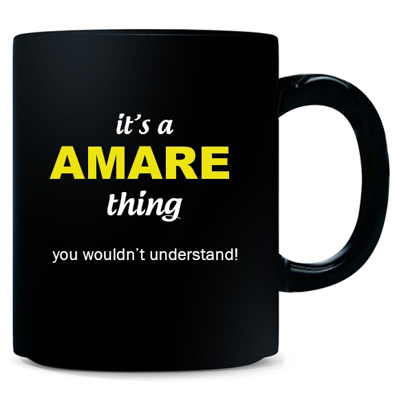 Mug for Amare