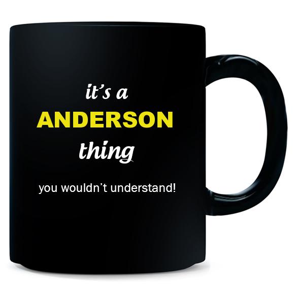 Mug for Anderson