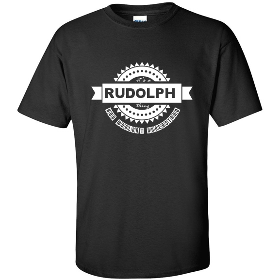 t-shirt for Rudolph