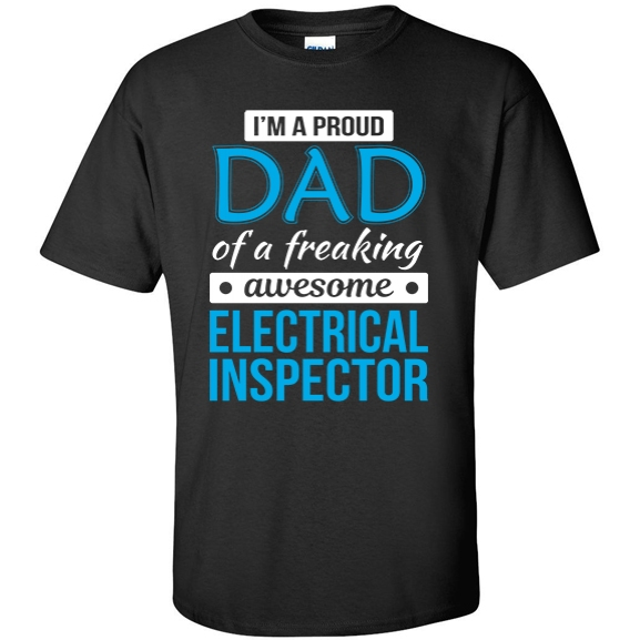 Proud Dad of freaking awesome Electrical Inspector