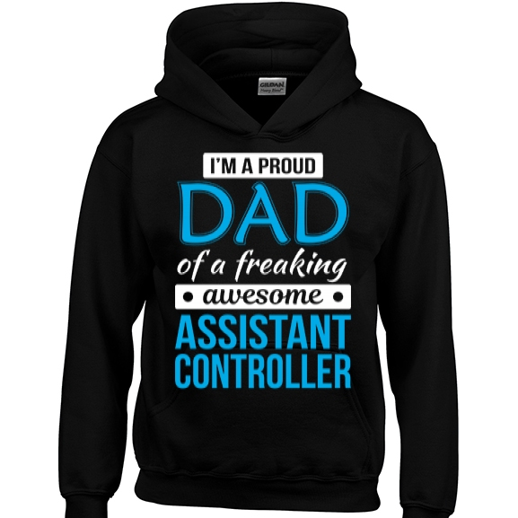 Proud Dad of freaking awesome Assistant Controller