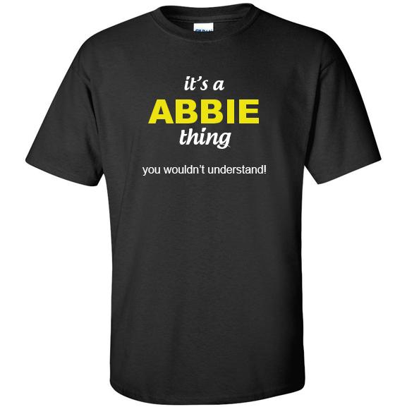 t-shirt for Abbie