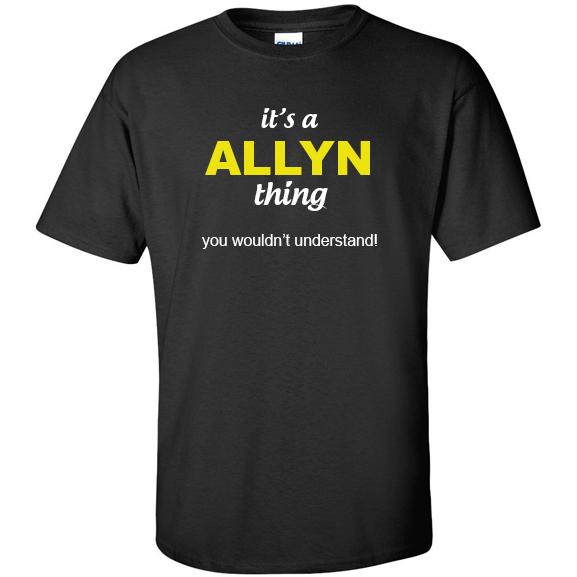 t-shirt for Allyn