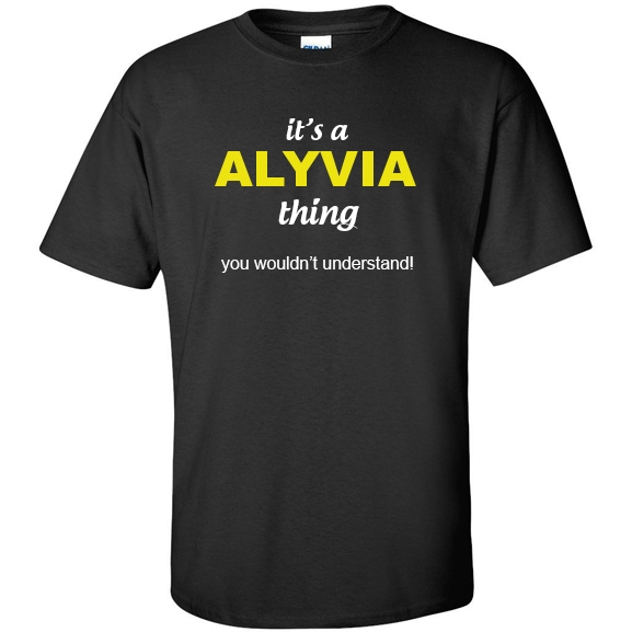 t-shirt for Alyvia