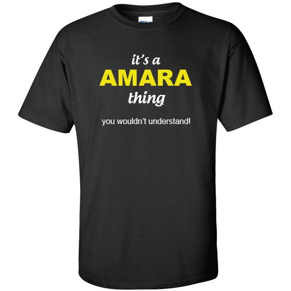 t-shirt for Amara