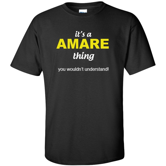 t-shirt for Amare