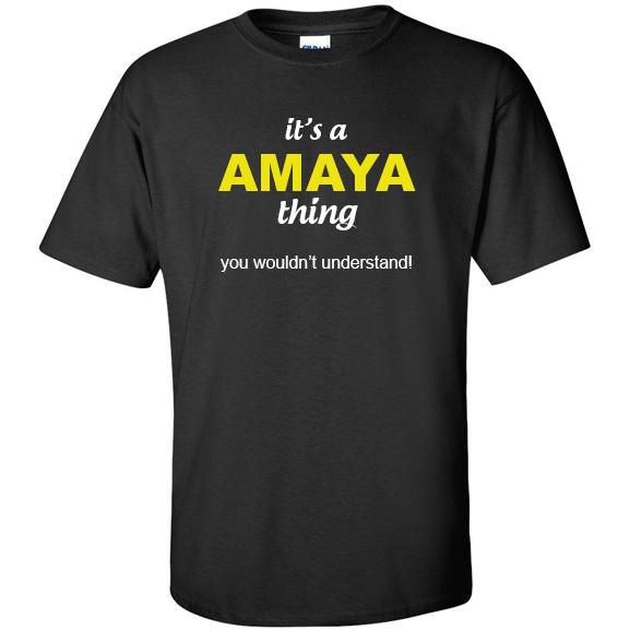 t-shirt for Amaya