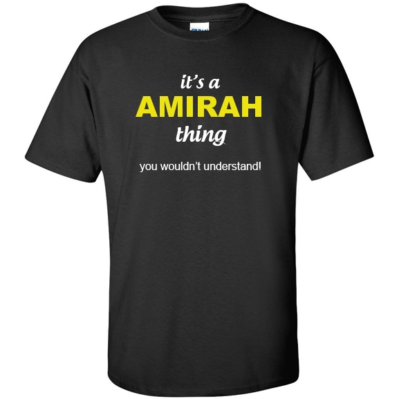 t-shirt for Amirah