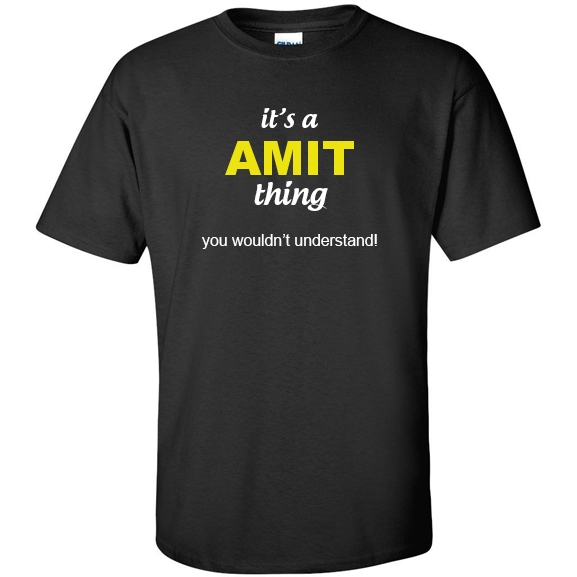 t-shirt for Amit