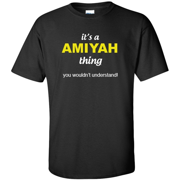 t-shirt for Amiyah