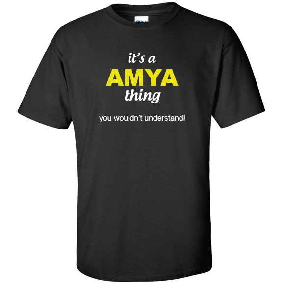 t-shirt for Amya