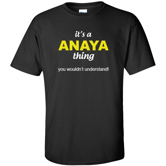 t-shirt for Anaya