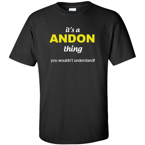 t-shirt for Andon