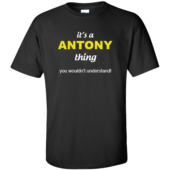t-shirt for Antony