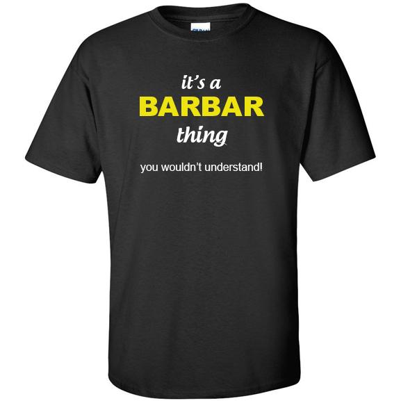 t-shirt for Barbar