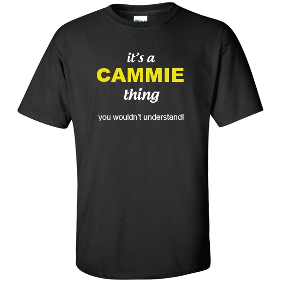 t-shirt for Cammie