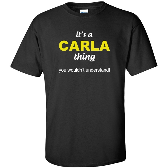 t-shirt for Carla