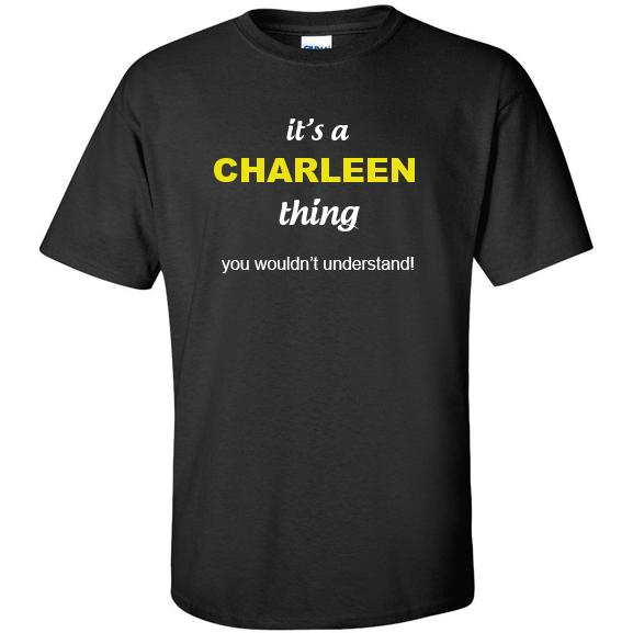 t-shirt for Charleen