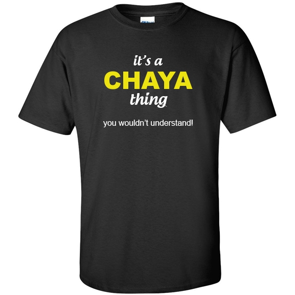 t-shirt for Chaya
