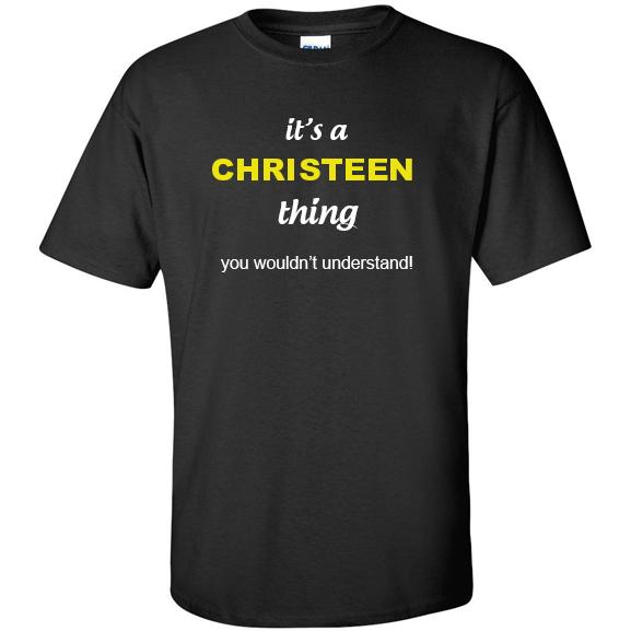 t-shirt for Christeen