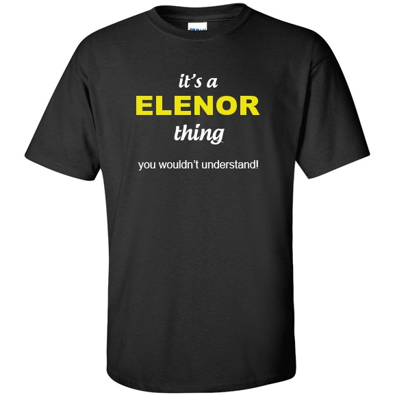 t-shirt for Elenor
