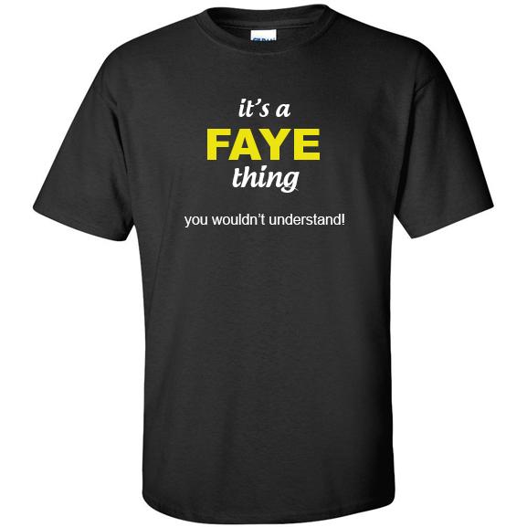 t-shirt for Faye