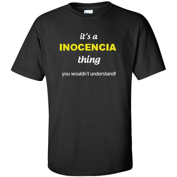 t-shirt for Inocencia