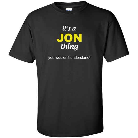 t-shirt for Jon