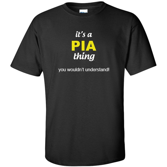 t-shirt for Pia